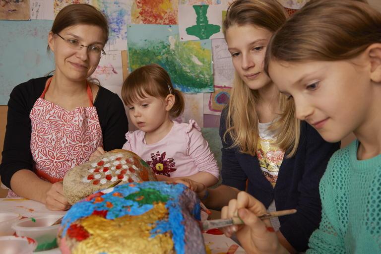 Rebecca, 37, Leiterin der Kinder- und Geschwistertrauergruppen
