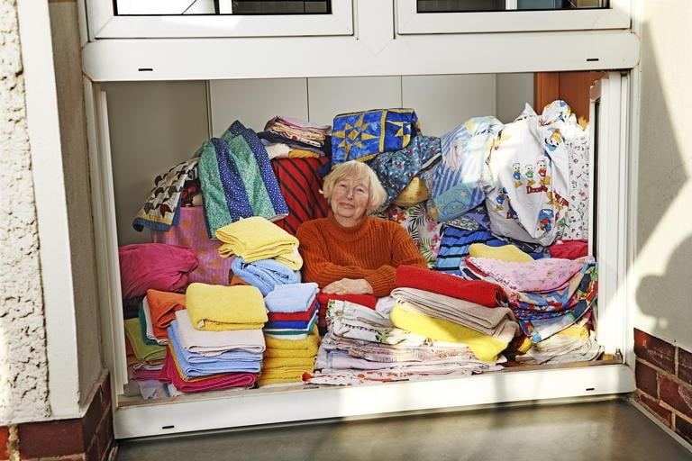 Uta, 81, ehrenamtliche Hauswirtschafterin